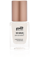 So Gold Satin Nail Wonder